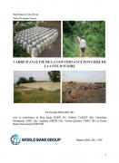 Cadre d'analyse de la gouvernance foncière de Côte d'Ivoire
