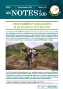 Forum mondial sur l'accès à la terre et aux ressources naturelles 2016