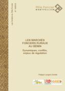 Les marchés fonciers ruraux au Bénin : dynamiques, conflits, enjeux de régulation