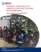 Women's land rights in Liberia in Law, practice and future reforms
