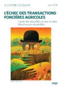 L'échec des transactions foncières agricoles