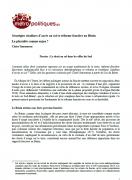 Stratégies citadines d'accès au sol et réforme foncière au Bénin