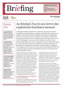 Au Sénégal, l'accès aux terres des exploitants familiaux menacé