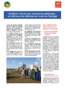 Améliorer l'accès aux ressources pastorales :  un défi pour les réformes en cours au Sénégal