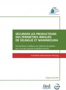 Sécuriser les producteurs des périmètres irrigués de Sélingué et Maninkoura