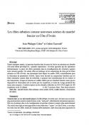 Les élites urbaines comme nouveaux acteurs du marché foncier en Côte d'Ivoire