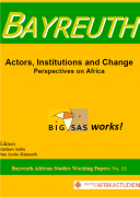 Actors, Institutions and Change : Perspectives on Africa