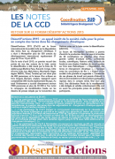 Retour sur le forum désertif'actions 2015