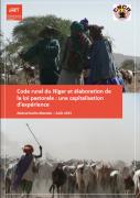 Code rural du Niger et élaboration de la loi pastorale : une capitalisation d'expérience