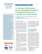 Le système d'information sur les Attributions foncières : l'enregistrement foncier à la portée des acteurs locaux