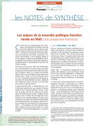 Note de synthèse n°3 : Les enjeux de la nouvelle politique foncière  rurale au Mali.