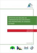 Définition des mesures de compensation des exploitants non-propriétaires de Kandadji au Niger
