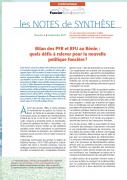 Note de synthèse n°5 : Bilan des PFR et RFU au Bénin – Quels défis à relever pour la nouvelle politique foncière ?