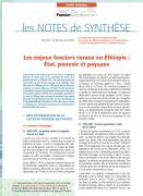 Note de synthèse n°11 : Les enjeux fonciers ruraux en Éthiopie – État, pouvoir et paysans