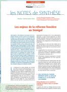 Note de synthèse n° 13 : Les enjeux de la réforme foncière au Sénégal