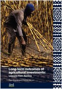 Long-term outcomes of agricultural investments: Lessons from Zambia