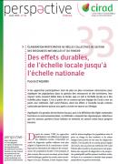 Elaboration participative des règles de gestion collective des ressources naturelles et le foncier