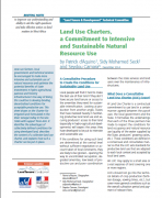 Land Use Charters, a Commitment to Intensive and Sustainable Natural Resource Use