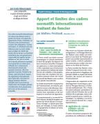 Apport et limites des cadres normatifs internationaux traitant du foncier