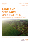 Land and seed laws under attack: who is pushing changes in Africa?