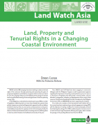 Land, property and tenurial rights in a changing coastal environment