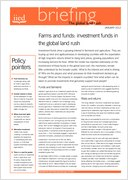 Farms and funds: investment funds in the global land rush