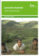 Lessons learned : Youth and land tenure