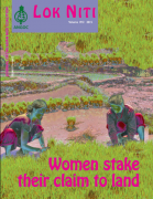 Women stake their claim to land