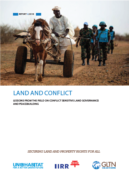 Land and conflict : lessons from the field on conflict sensitive land governance and peacebuilding