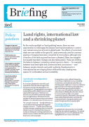 Land rights, international law and a shrinking planet