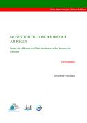 Notes de réflexion sur l'état des textes et les besoins de réforme pour la gestion du foncier irrigué au Niger