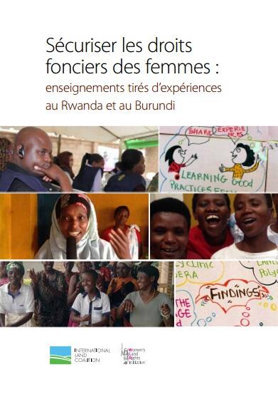 Sécuriser les droits  fonciers des femmes
