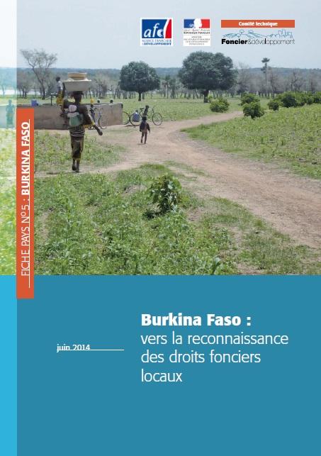 Burkina Faso : vers la reconnaissance des droits fonciers locaux