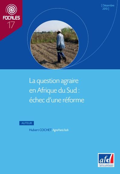 La question agraire en Afrique du Sud :  échec d'une réforme