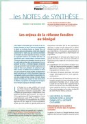 Note de synthèse n°13 : les enjeux de la réforme foncière au Sénégal