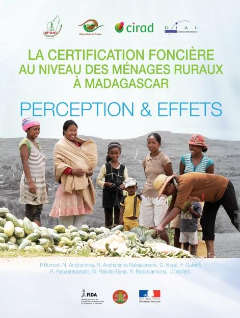 Perception et Effets de la certification foncière au niveau des ménages ruraux