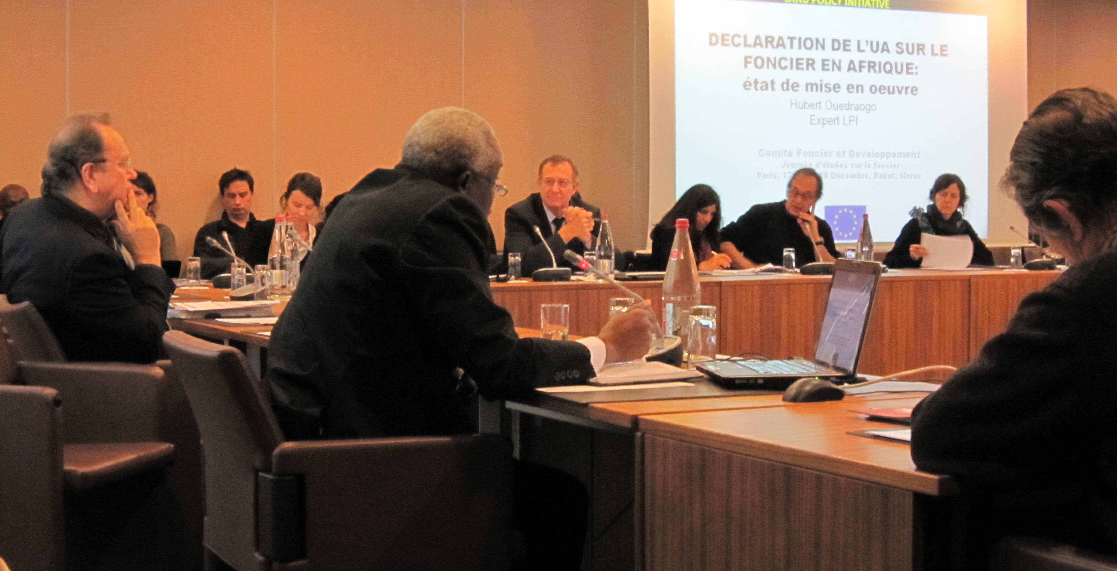 Journées d'études du Comité technique «Foncier & Développement»