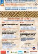 """Journée du programme MSH-M """"Gouvernance foncière et développement durable au Sud"""" à la Maison des sciences de l'Homme de Montpellier"""