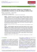 Aménagement de bas-fonds, politique de l'aménageur et recompositions foncières. Le cas de Lofing au Burkina Faso