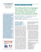 Une démarche d'accompagnement pour mettre en oeuvre une Gestion territoriale et foncière décentralisée (GTFD)