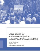 Legal advice for environmental justice: Experience from eastern India