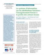 Les systèmes d'information sur les attributions foncières : l'enregistrement foncier à la portée des acteurs locaux