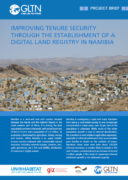 Improving Tenure Security Through the Establishment of a Digital Land Registry in Namibia