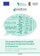 Les propositions de la société civile pour la réforme foncière au Cameroun