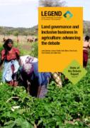 Gouvernance foncière et inclusion dans les investissements agricoles : faire avancer le débat