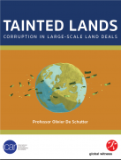 Tainted Lands Corruption in Large Scale Land Deals