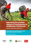 Improving the positive impacts of investments on smallholder livelihoods and the landscapes they live in