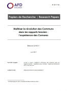Maîtriser la révolution des Communs dans les rapports fonciers : l'expérience des Comores