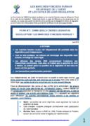 Sept fiches de synthèse sur l'Étude régionale sur les marchés fonciers ruraux en Afrique de l'Ouest