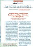 Note de synthèse n°28 – Les trajectoires des politiques foncières en Afrique de l'Ouest et à Madagascar : Identifier les déterminants du changement pour définir des stratégies d'action